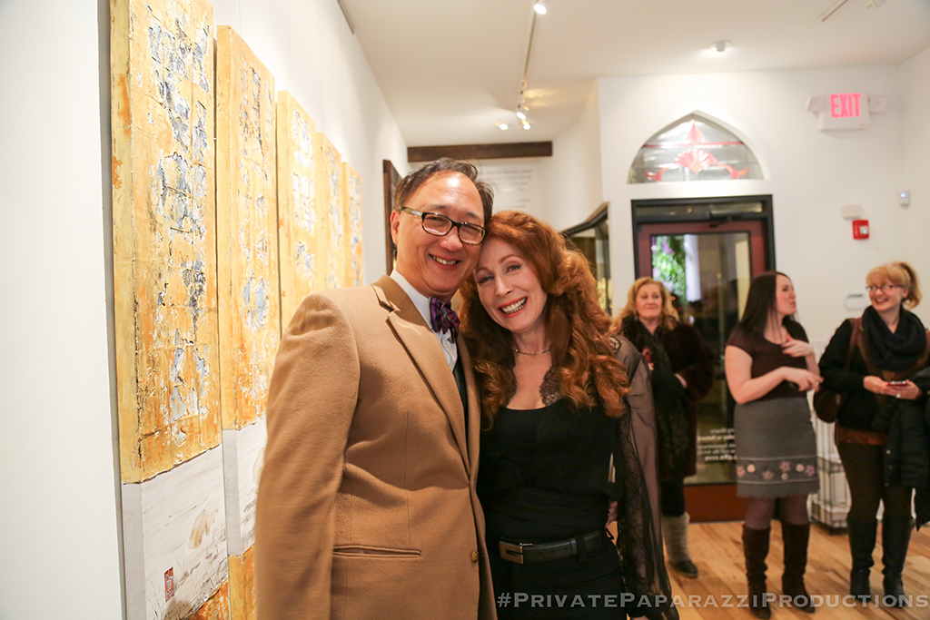 Edward Fong and Chantal Westby