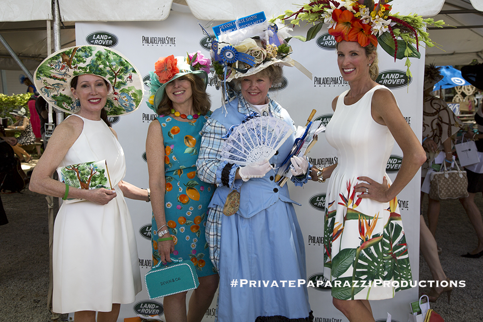 Best Hat and Purse - Pam Targanl; Best Hat to Toe - Patti Lynn Fitzgerald; Best in Show - Pam Bastings; Most Fascinating (or best fascinator) - Amy Holzapfe