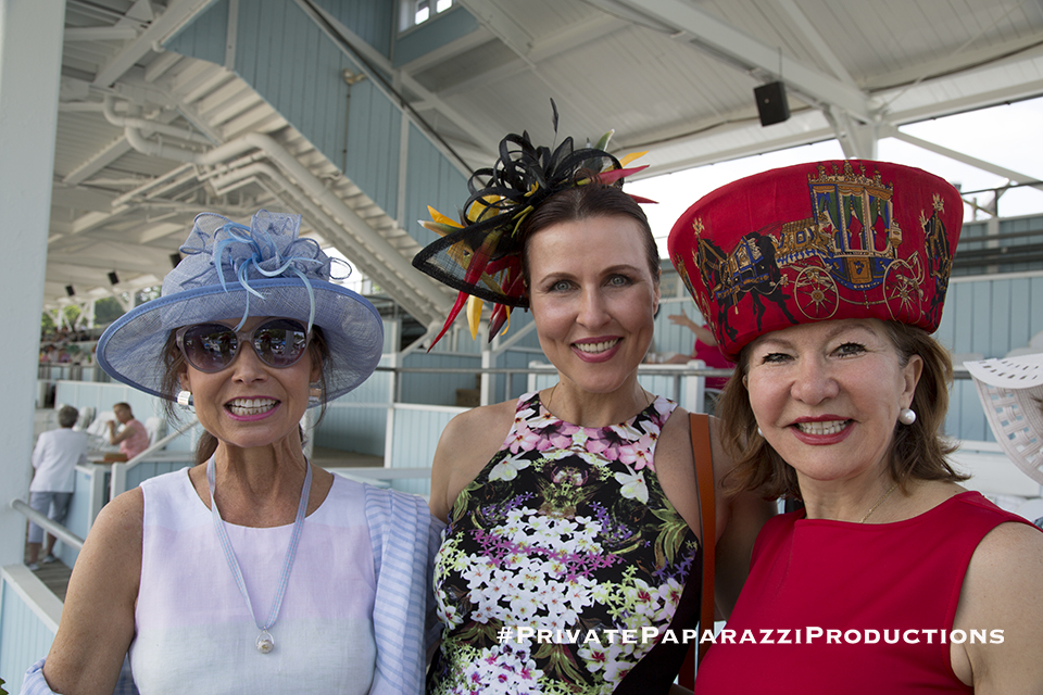 Lorraine Sterling, Inna Race and Gordana Loncar
