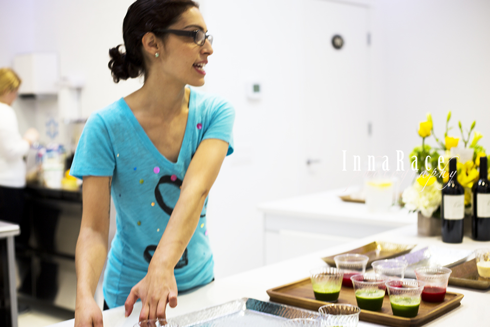Monica Sellecchia, Chef and Manager The Juice Merchant