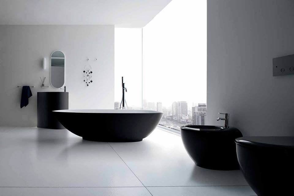 Contemporary style bathroom vanities