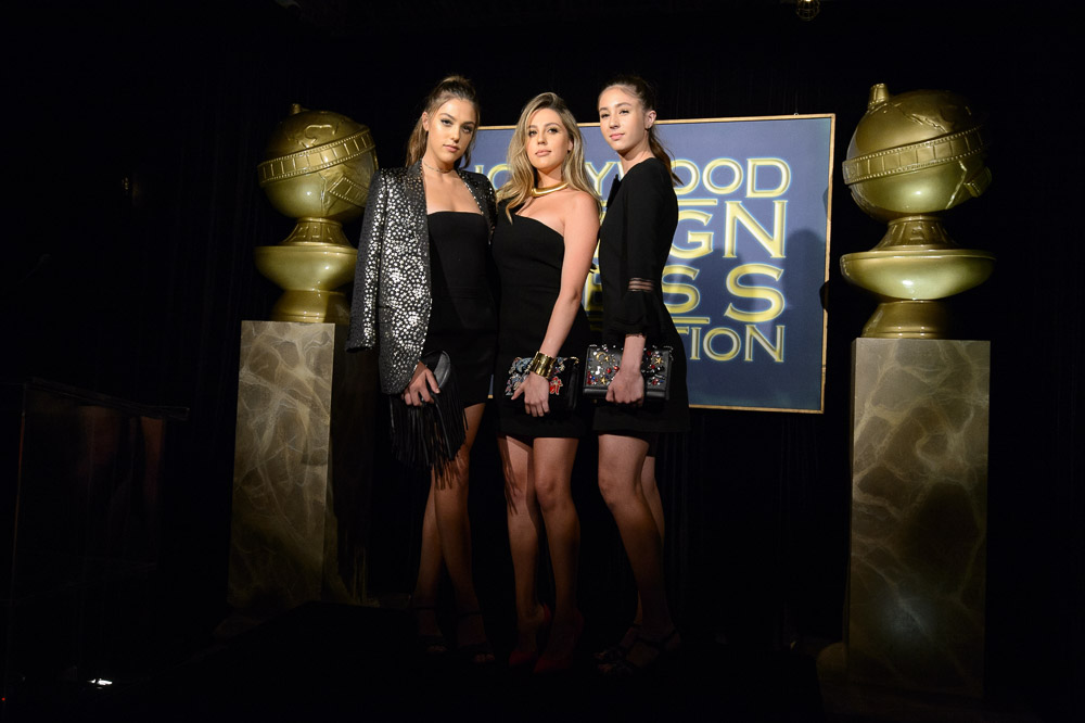 Private-Paparazzi-Productions_ attend the HFPA and InStyle Celebration of Miss Golden Globe 2017, presented by Fiji Water 74th Annual Golden Globe Awards set to air live on NBC on January 8, 2017.
